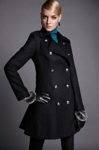 double-breasted-faux-worsted-trench-coat